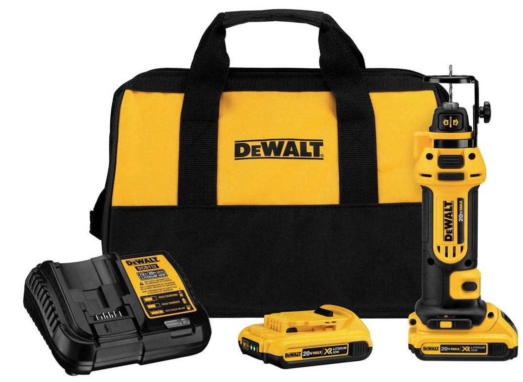 Dewalt Rotary Cutting Tool Combo $160 at Home Depot