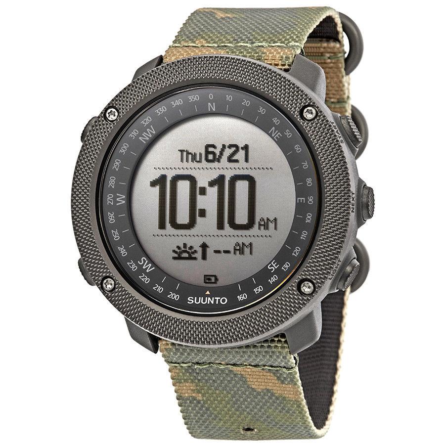 SUUNTO Traverse Alpha Woodland GPS Watch - $280