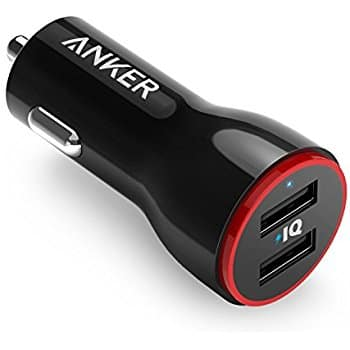 Anker 24W Dual USB Car Charger, ONLY $7.39, And More