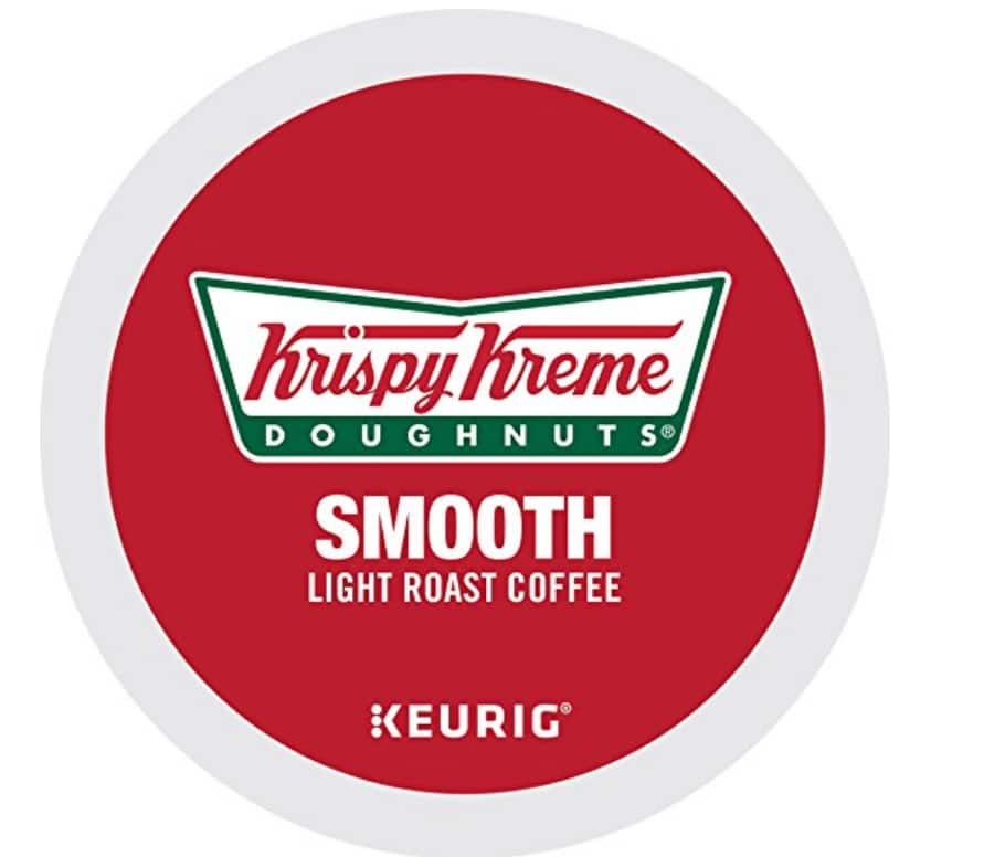 72 count Krispy Kreme k-cups for $27.11 with subscribe and save
