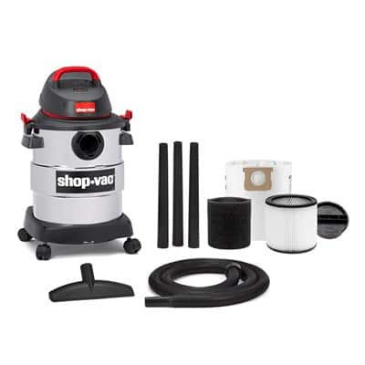 **DEAL IS OVER**$26.67 Shop-Vac stainless steel 6 gallon 4.5hp peak 130cfm wet / dry vac + accessories +f/s over $35 or in store pickup at walmart
