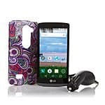 "LG Sunset 4.5"" 4G LTE Android 5.0 TracFone with 1200 Minutes/Texts/Data and Triple Minutes for Life for $130 w/ FS"