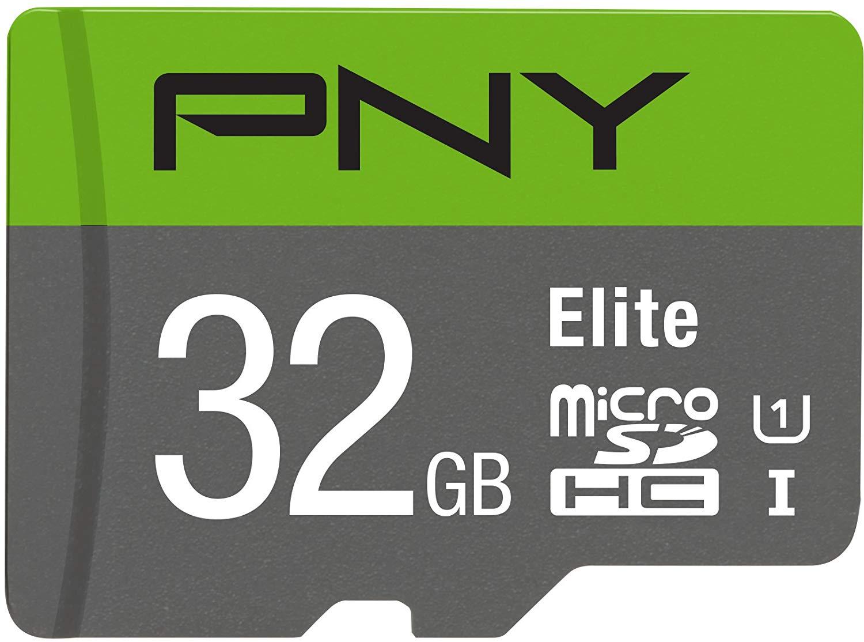 Pny 32GB Elite Class 10 U1 microSDHC @Amazon $3.50 limit 3.