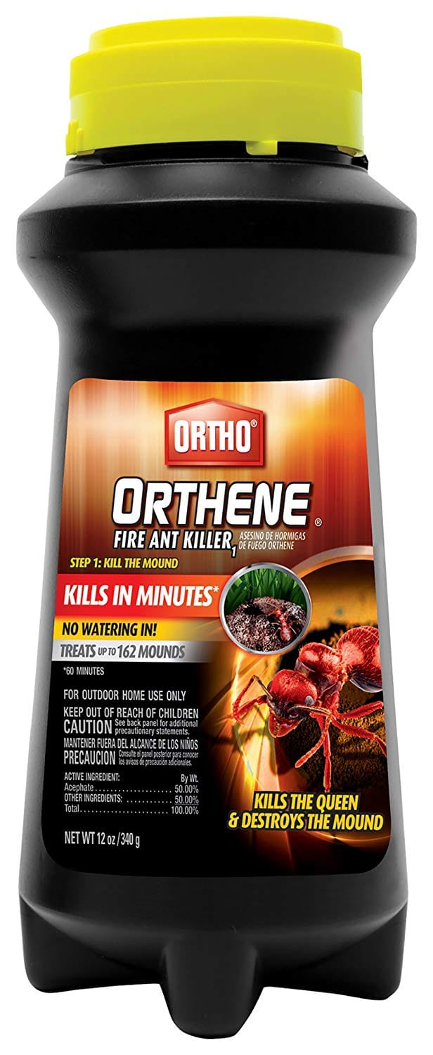 Ortho 12-Ounce Orthene Fire Ant Killer - Treats up to 162 Mounds $6.80 Free shipping with prime $6.73