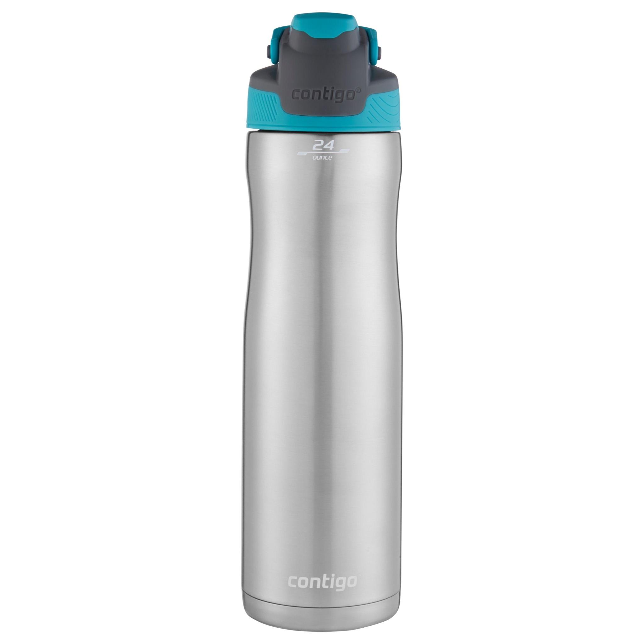 Contigo 24 Oz Autoseal Chill Stainless Steel Water Bottle, $11.88