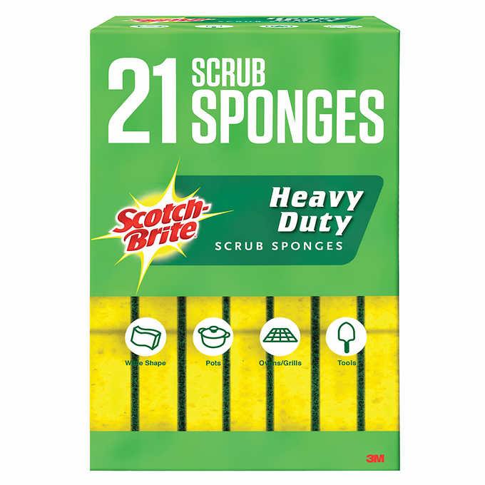 Scotch-Brite Heavy Duty Sponge, 21-count $11.58