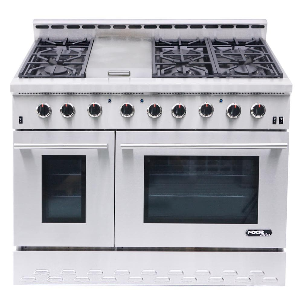 """NXR Stainless Steel 48 """" Gas Range with LED $3500"""