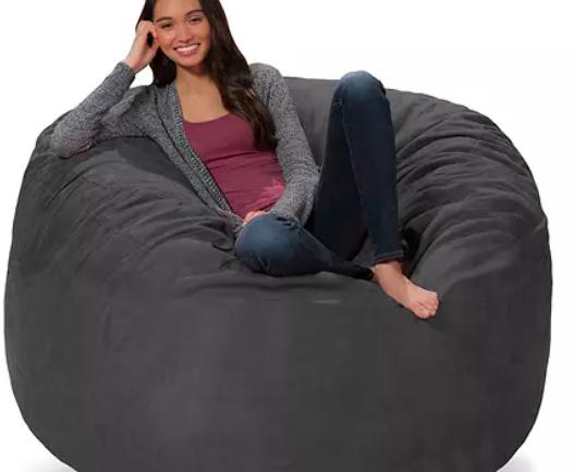 Comfy Sacks 5' Memory Foam Bean Bag Chair (Assorted Colors) $149.98