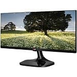 "LG 25UM56-P Black 25"" IPS 2*HDMI ULTRAWIDE LED Monitor $180 + free shipping"