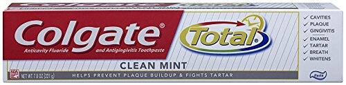 Colgate Total Clean Mint Toothpaste, 7.8 Ounce (Pack of 6) - As low as $13.61 subscribe & Save