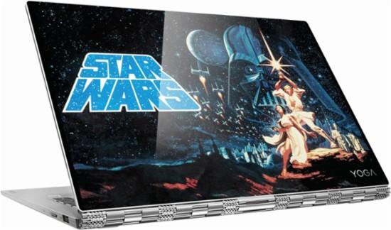 [DEAD] Lenovo - Star Wars Special Edition Yoga 920 2-in-1 13.9 inch 4K UltraHD Touch-Screen Laptop - Intel Core i7 8th Gen - 16GB Memory - 512GB SSD - Platinum $1299.93