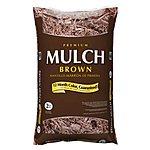 Premium 2-cu ft Hardwood Mulch $2 @ Lowe's
