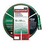 Craftsman Heavy Duty Neverkink Self-Straightening Hose ( Full Lifetime Warranty ) - 50 Feet. $15.99 (  Regular price $31.99 )   @ Sears