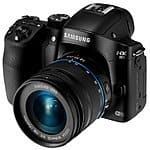 Amazon.  Samsung NX30 Mirrorless Digital Camera with 18-55mm Lens  $500