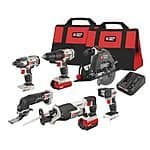 PORTER-CABLE  20V Lithium  MAX 6-Tool Combo Kit   $314.99 Shipped ( 35% Off, 3 Year  Warranty & Lowest On CCC ) @ Amazon Deal Of The Day