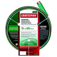 Sears Deal: 75' Craftsman Heavy Duty Neverkink Self-Straightening Hose with Full Lifetime Warranty $19.99 Store Pick Up @ SEARS