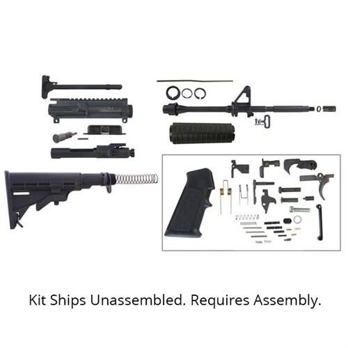 GUNS, Complete Brownells AR-15 Rifle including  Lower Receiver - $404 shipped after coupon  ( Assembly Required ) @ Brownells