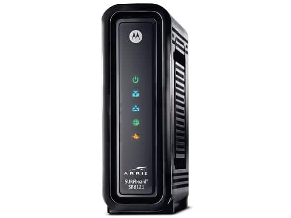 Motorola SB6121 SURFboard eXtreme DOCSIS 3.0 Cable Modem $39.99 Or Less ( Factory Reconditioned  )  +$5 S/H @ WOOT