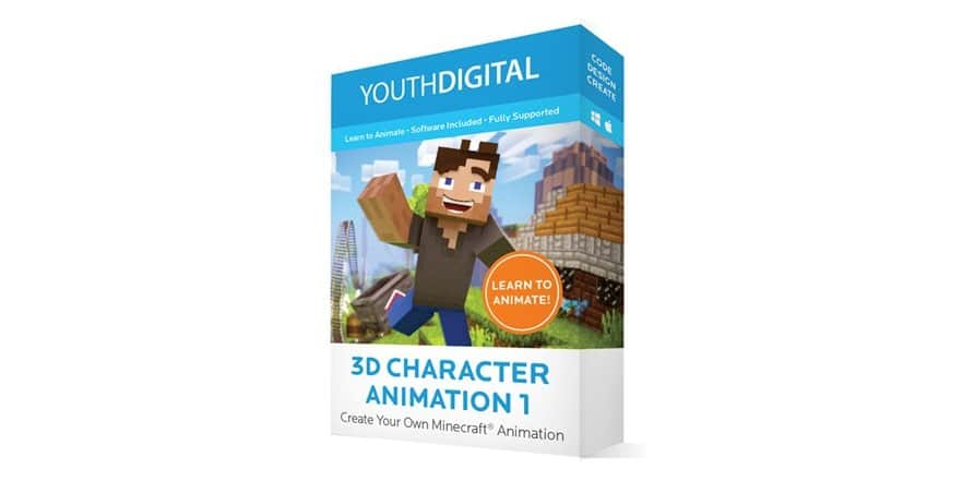 Youth Digital 3D Character Animation $59.99 + $5 S/H @ WOOT