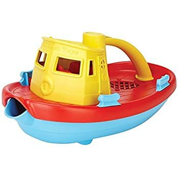 Green Toys My First Tugboat, Yellow ( Made In The USA ) $6.59 Shipped With Prime @ Amazon