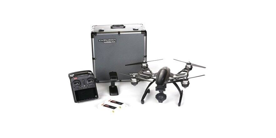Yuneec Typhoon Q500 4K Quadcopter Drone UHD Includes Case Second Battery ( Choice of Aluminum Carrying Case - Factory Reconditioned ) $379.99–$399.99 Shipped Free With Prime @ WOOT