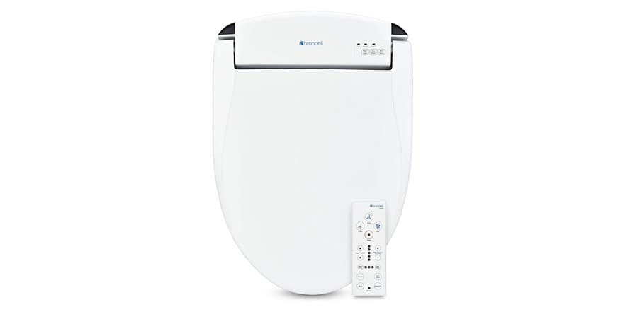 """""""Bidet"""" Brondell Swash SE600 Elongated or Round Bidet Seat with Air Dryer (NEW) - Stainless-Steel Nozzle Nightlight Deodorizer Remote Control $249.99 Shipped Free With Prime @ WOOT"""