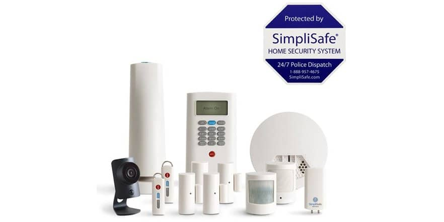 SimpliSafe 13-Piece Home Security System with HD Camera / Motion sensor / Water Sensor / Glass-break sensor / Smoke Detector $304.99 With Prime  @ WOOT / Fulfilled by Amazon