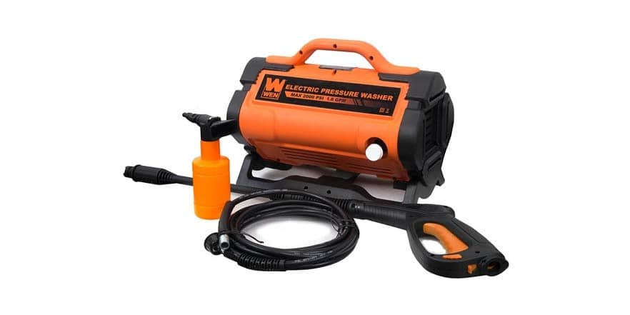 WEN PW19 2000 PSI 1 6 GPM 13-Amp Variable Flow Electric