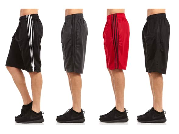 Men's Premium Performance Shorts 4-Pack $19.99 Shipped Free With Prime @ WOOT