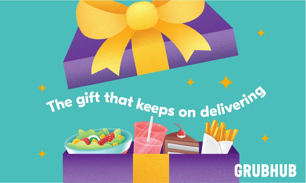 Spend $50 on Grubhub Giftcards and get $10 bonus (ends tonight)