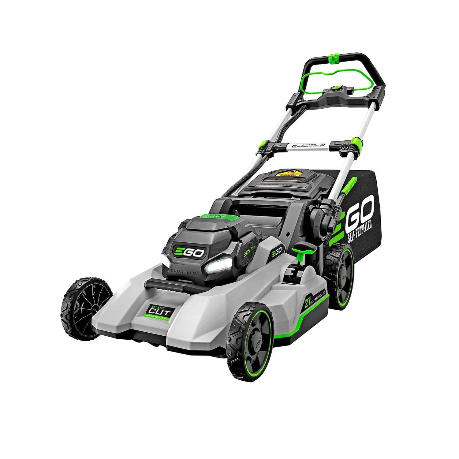 EGO Select Cut 21 in. Self-Propelled Lawn Mower LM2135SP $600
