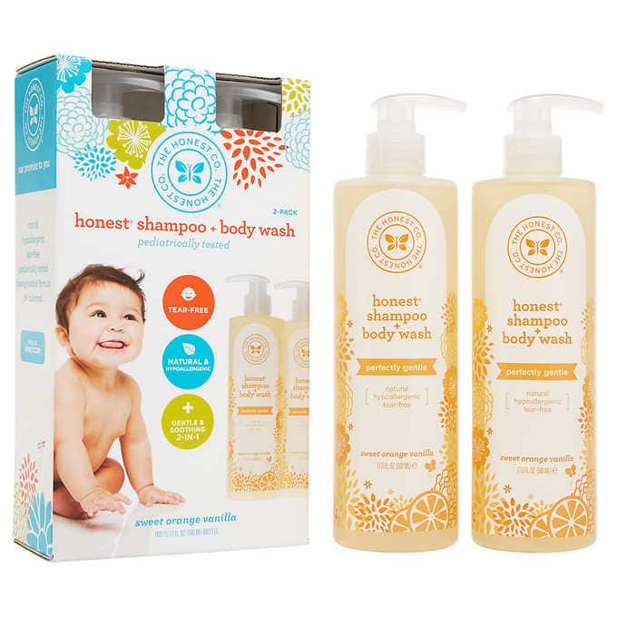 2a10ffa2842 2-Pack 17oz The Honest Co. Shampoo & Body Wash - Slickdeals.net