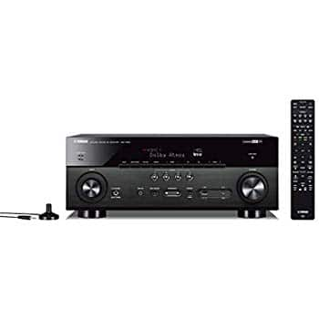Yamaha TSR-7850R 7.2CH Dolby Atmos DTS Wi-Fi BT 4K Receiver, Black (Renewed) $269.99 + FS @Amazon