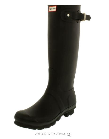 Hunter Tall Rain Boots On Sale for $79.99 With Coupon