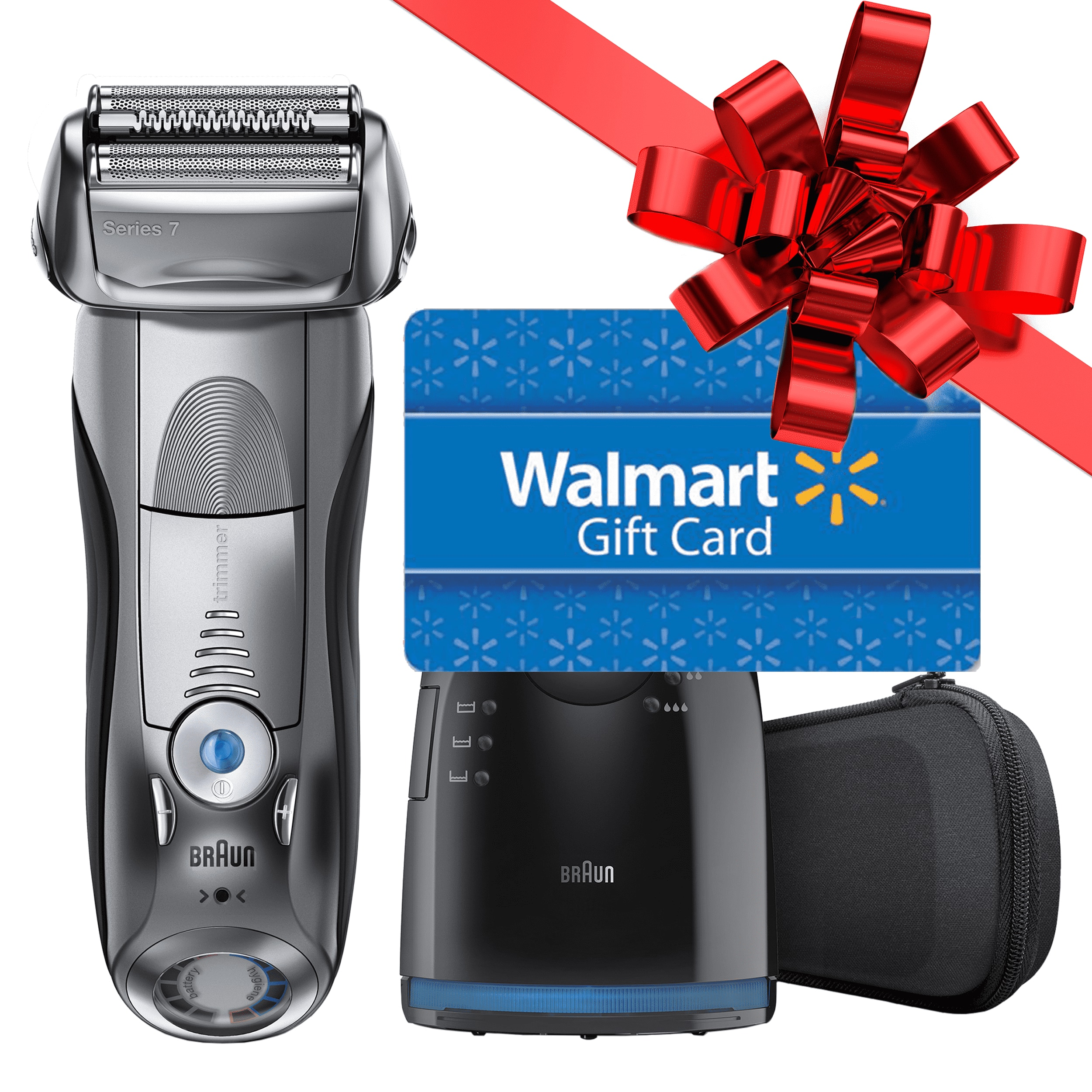 Braun Series 7-790cc Men's Electric Foil Shaver for $109.99 After Gift Card  $139.99