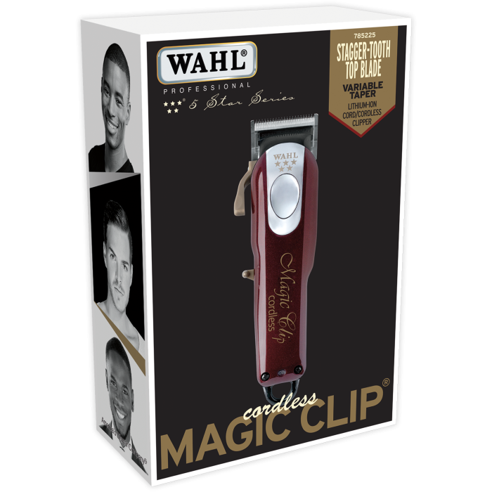 Wahl 5-Star Cordless Magic Clip - $90.74 After Discount + Tax with FS