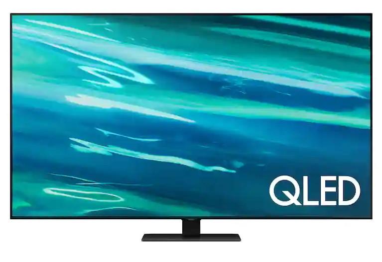 """Samsung: 85"""" Class Q80A QLED 4K Smart TV (2021) $2999.99"""