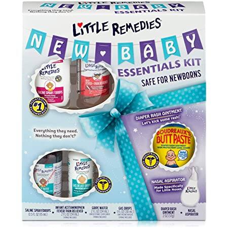 Amazon: Little Remedies New Baby Essentials Kit, 6 Piece Kit for Baby's Nose and Tummy $13.59 + Free Shipping w/ Prime