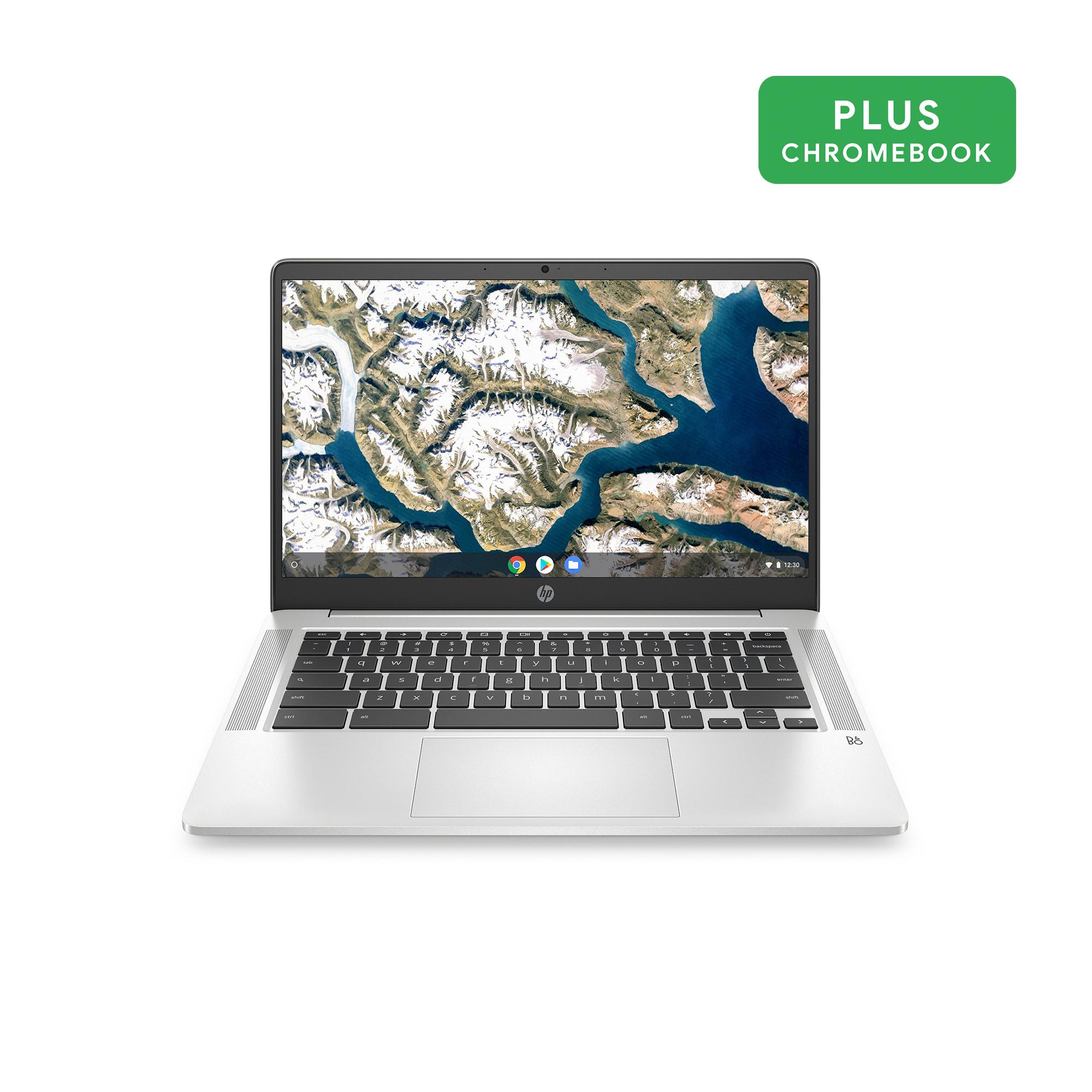 """Walmart: HP 14"""" Pentium 4GB/64GB Chromebook, 14"""" HD Display, Intel Pentium Silver N5000, 4GB RAM, 64GB eMMC, Intel UHD Graphics 605, 14a-na0031wm $249"""