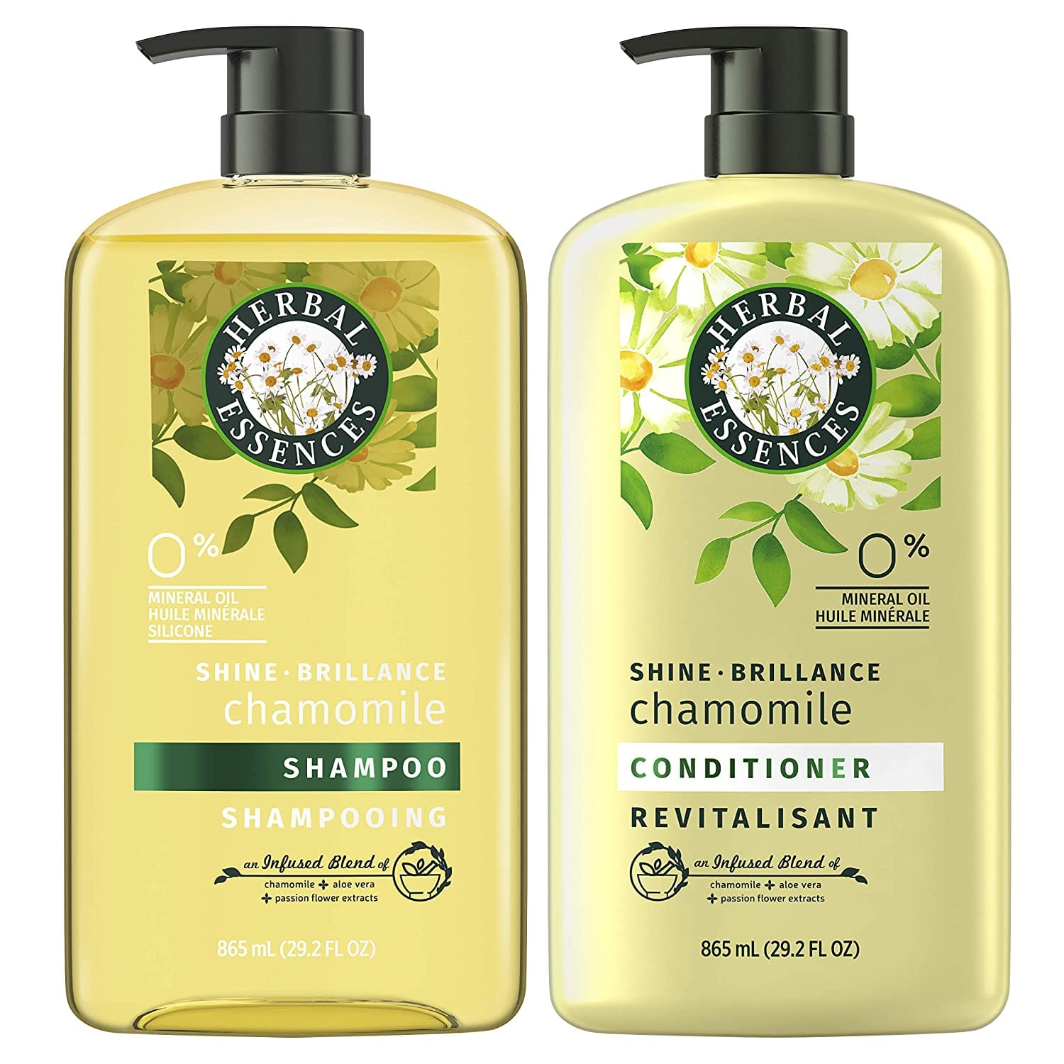 Amazon: Herbal Essences Shine Collection Shampoo and Conditioner Bundle, with Chamomile, Color Safe, 29.2 Fl Oz $15.99 & MORE