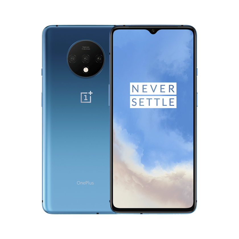128GB OnePlus 7T T-Mobile Smartphone (Glacier Blue or Frosted Silver) $399 + Free Shipping