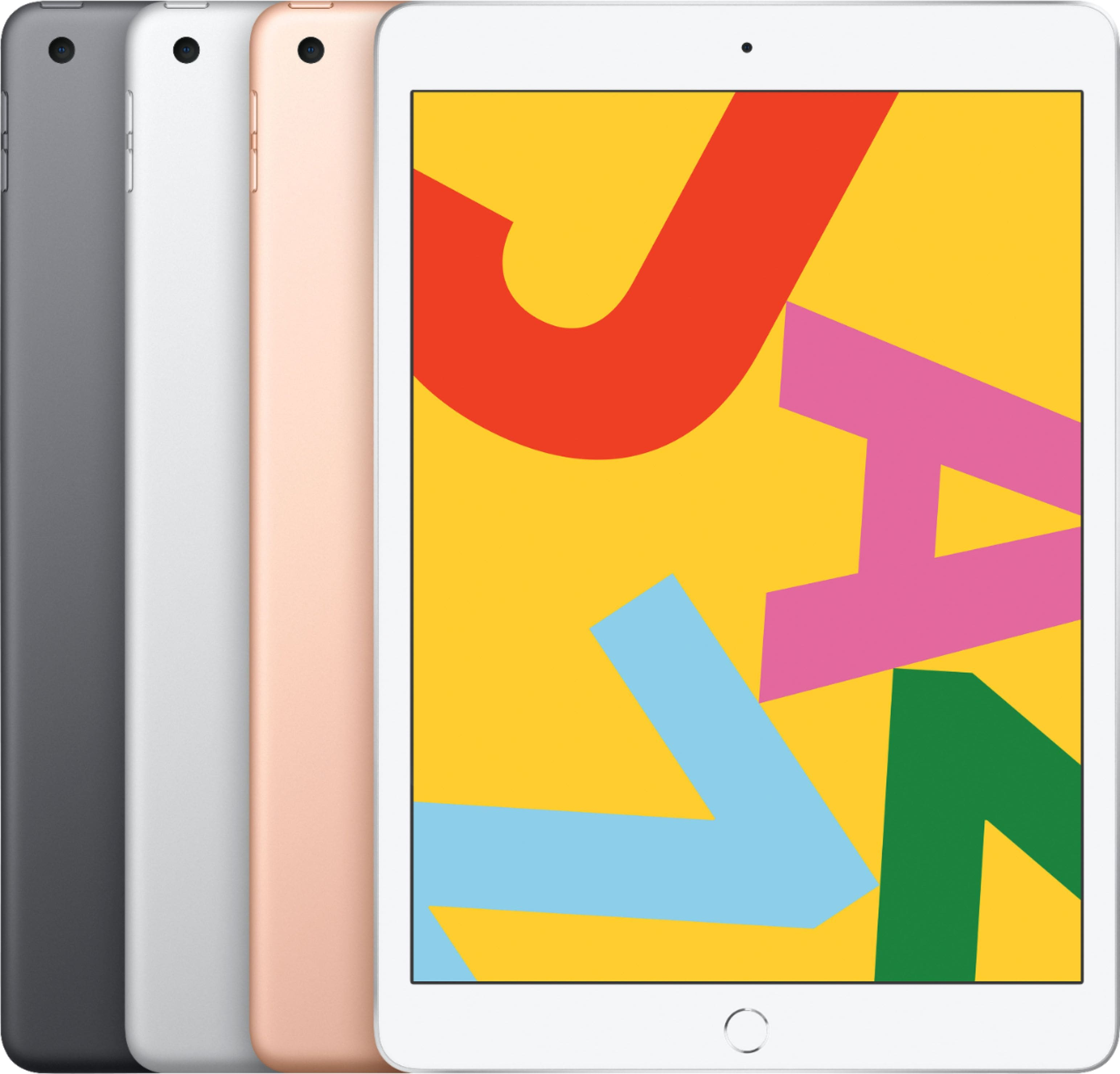Apple - 10.2-inch iPad (Latest Model) with Wi-Fi - 32GB, 3 Colors $249.99