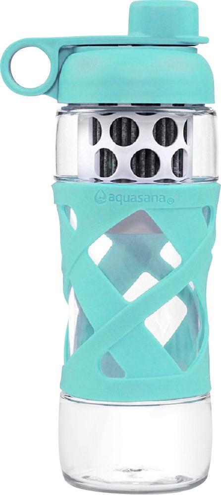 Aquasana - 20-Oz. Water Filter Bottle - Glacier $14.99
