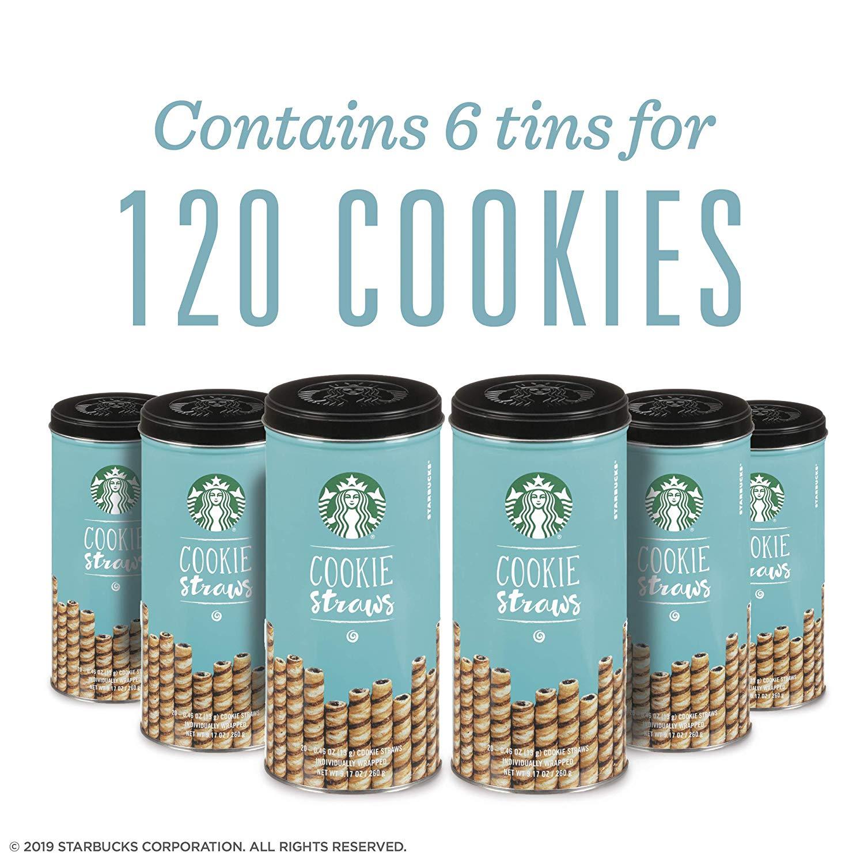 Starbucks Cookie Straws (120 ct) - Amazon $30 or $18 w/ Coupon (YMMV)