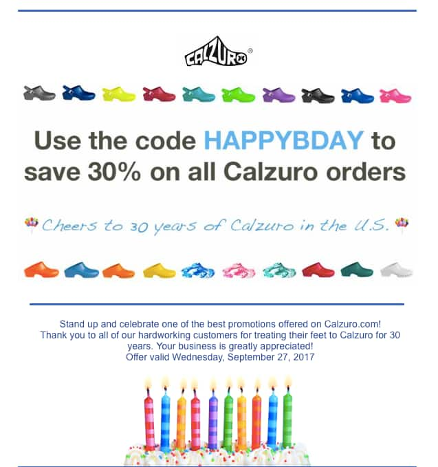 Calzuro Clogs - 30% off entire website (1 day only, exp 9/27)