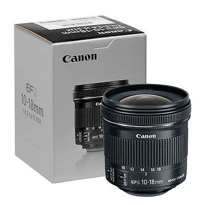 Canon EF-S 10-18mm f/4.5-5.6 IS STM Lens Ebay PRESDAY $219.95