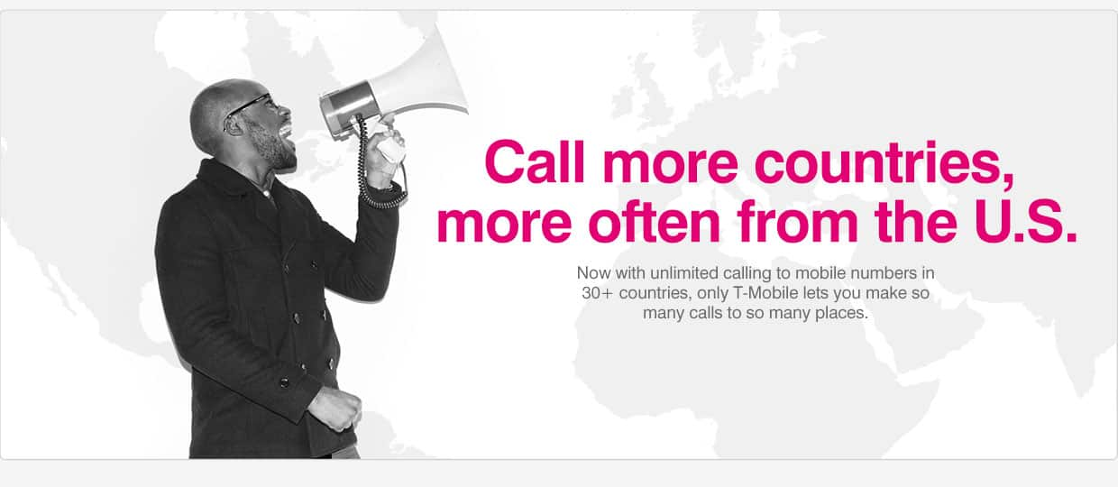 T-Mobile International landline calling for $5/mo for ENTIRE account (or $10/mo to add mobile calling)