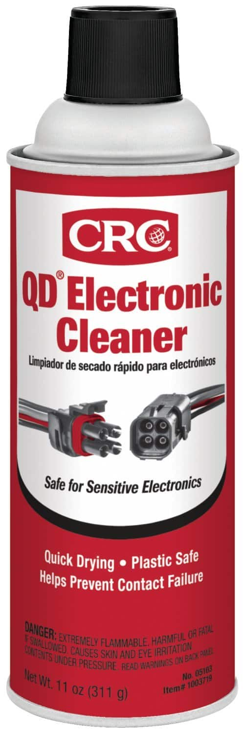 CRC 05103 QD Electronic Cleaner -11 Wt Oz $4.97