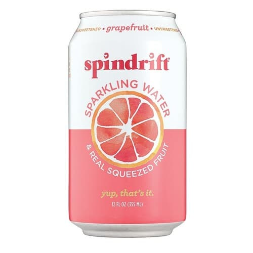 Spindrift Sparkling Water, Grapefruit Flavored, Made with Real Squeezed Fruit, 24 Count $11.93