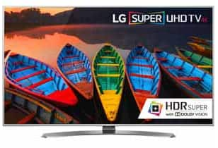 """LG 65UH7700 LG 65"""" Class Smart 4K UHD LED TV $1199 + tax with Sunday Promo code In Store only"""